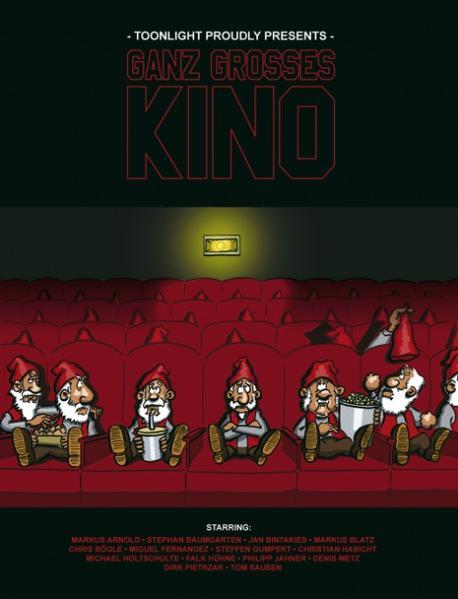 Ganz grosses Kino als Buch von Philipp Jahner