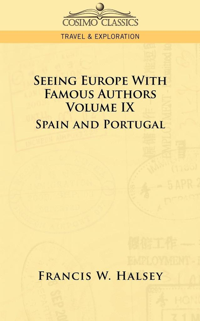 Seeing Europe with Famous Authors als Taschenbu...