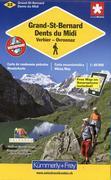 KuF Schweiz Wanderkarte 22 Grand-St-Bernard / Dents du Midi 1: 60 000