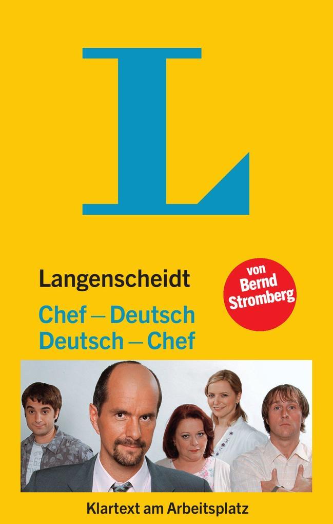 Langenscheidt Chef - Deutsch / Deutsch - Chef als Buch