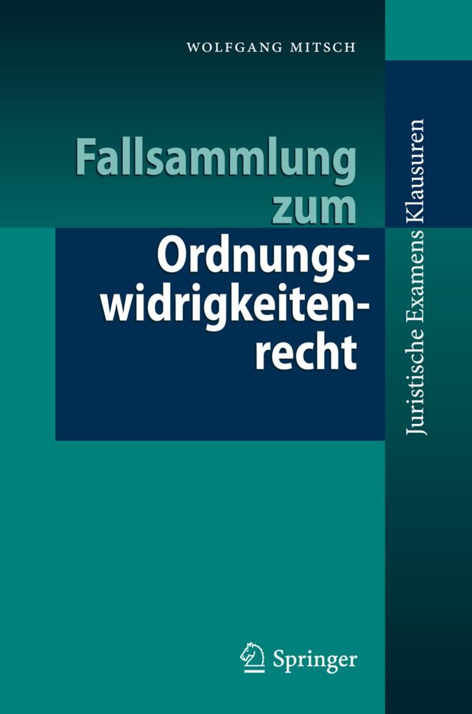 Fallsammlung zum Ordnungswidrigkeitenrecht als Buch (kartoniert)