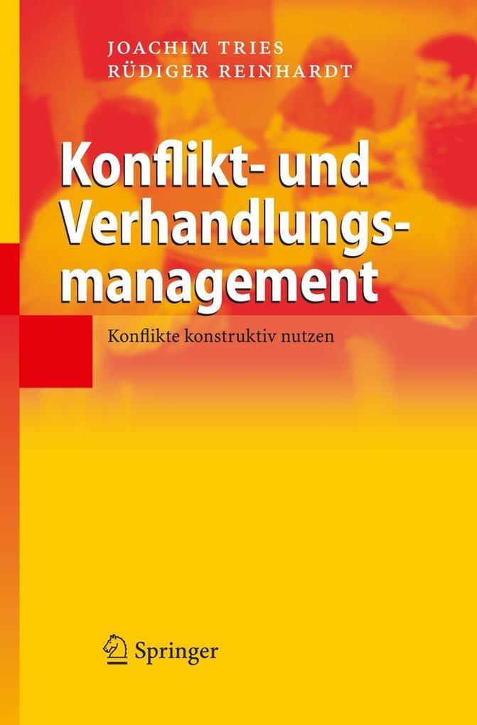 Konflikt- und Verhandlungsmanagement als Buch v...