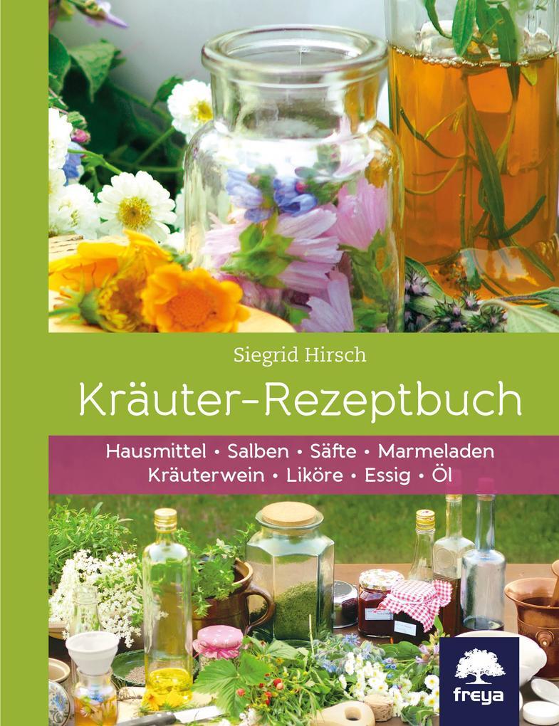 Kräuter-Rezeptbuch als Buch