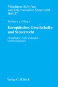 Europäisches Gesellschafts- und Steuerrecht