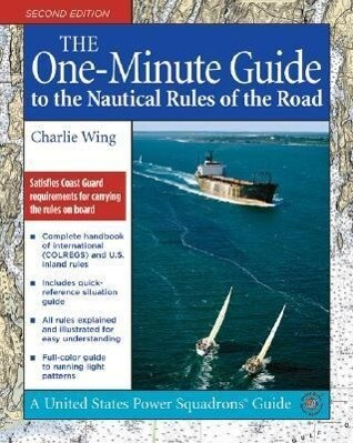 The One-Minute Guide to the Nautical Rules of the Road als Buch (kartoniert)