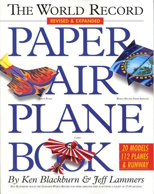 The World Record Paper Airplane Book als Tasche...
