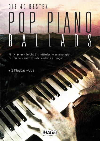 Pop Piano Ballads. Die 40 besten und bekanntest...