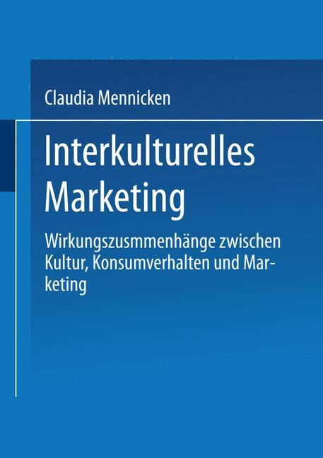 Interkulturelles Marketing als Buch von Claudia...