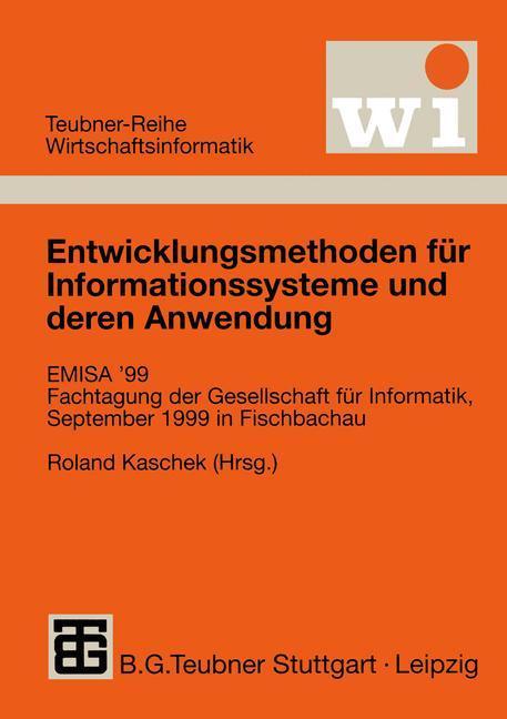 Entwicklungsmethoden für Informationssysteme un...