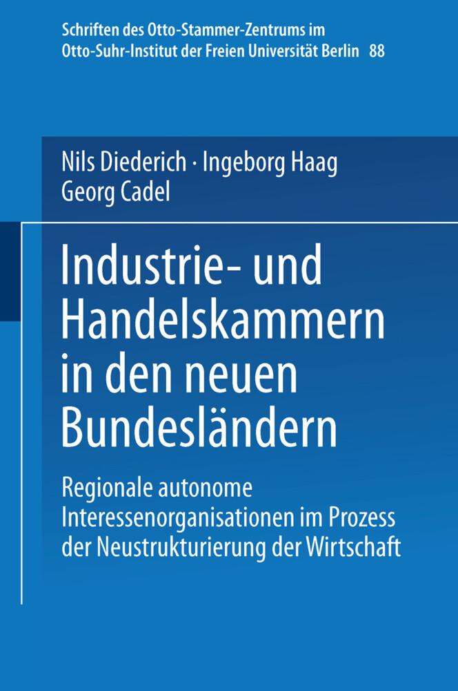 Industrie- und Handelskammern in den neuen Bund...