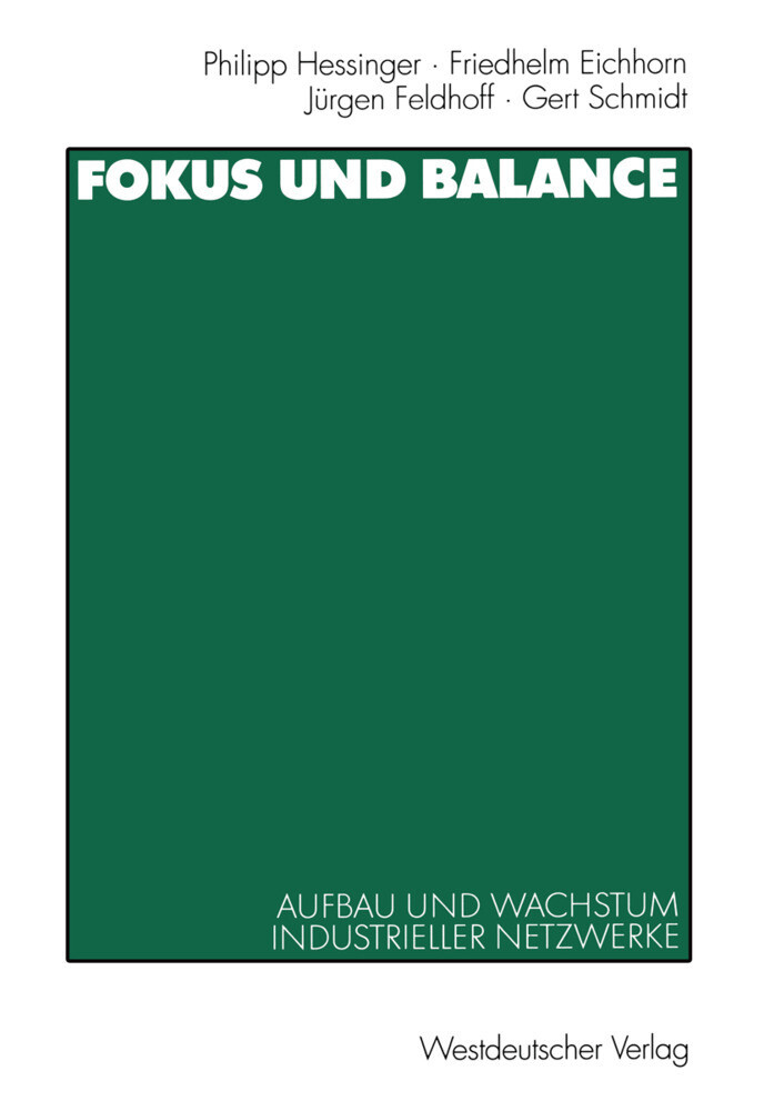 Fokus und Balance als Buch von Friedhelm Eichho...