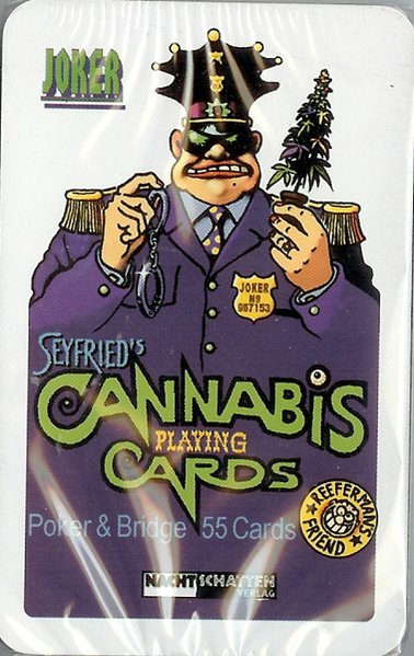 Seyfrieds 55 Cannabis Poker + Bridge Cards