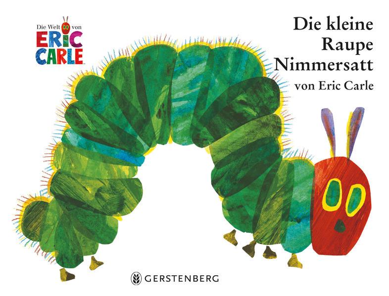 Die kleine Raupe Nimmersatt als Buch