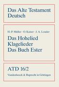 Das Hohe Lied / Klagelieder / Das Buch Esther