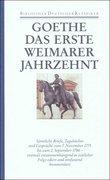 Das erste Weimarer Jahrzehnt