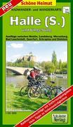 Radwander- und Wanderkarte Halle (Saale) und Umgebung 1 : 50 000