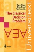 The Classical Decision Problem