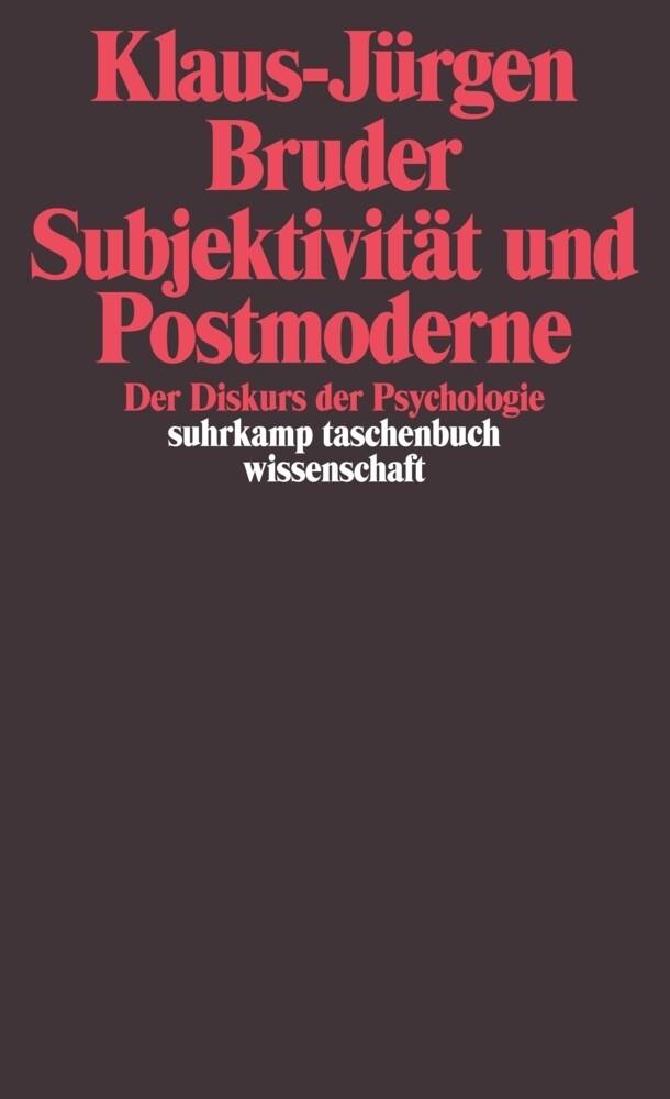 Subjektivität und Postmoderne als Taschenbuch v...