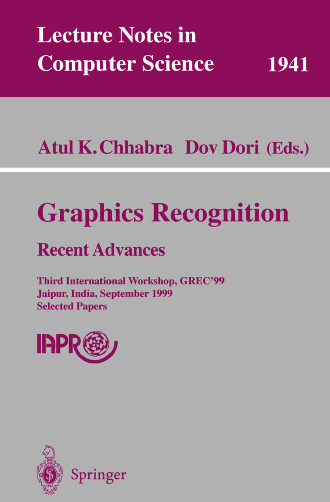 Graphics Recognition. Recent Advances als Buch von