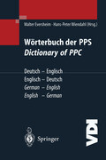 Wörterbuch der PPS Dictionary of PPC