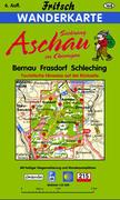 Aschau im Chiemgau. Bernau, Frasdorf, Sachrang, Schleching 1 : 35 000. Fritsch Wanderkarte