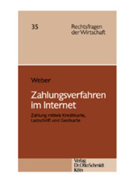 Zahlungsverfahren im Internet als Buch von Caro...