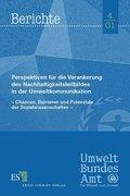 Perspektiven für die Verankerung des Nachhaltigkeitsbildes in der Umweltkommunikation