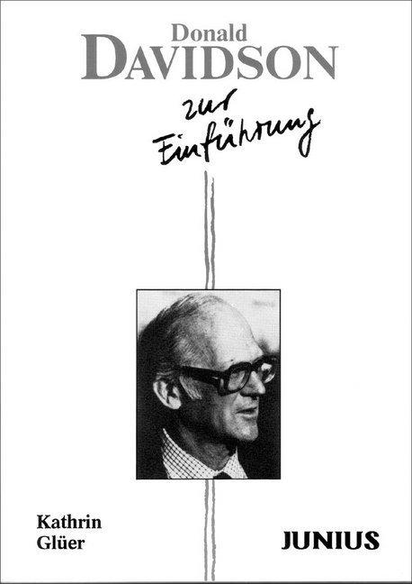 Donald Davidson zur Einführung als Taschenbuch