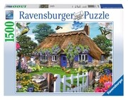 Cottage in England. Puzzle 1500 Teile