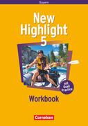New Highlight 5: 9. Jahrgangsstufe. Workbook. Bayern