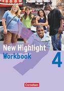 New Highlight 4: 8. Schuljahr. Workbook