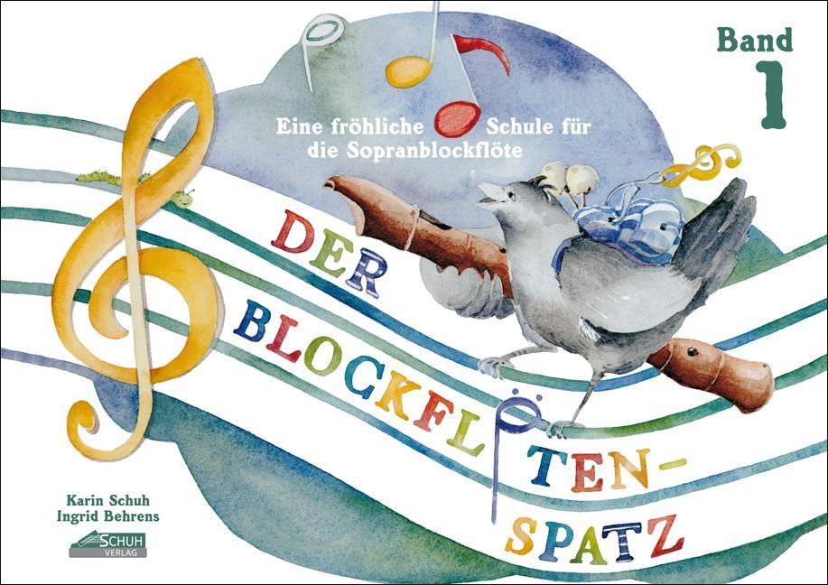 Der Blockflötenspatz 1 als Buch
