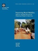Improving Rural Mobility: Options for Developing Motorized and Nonmotorized Transport in Rural Areas
