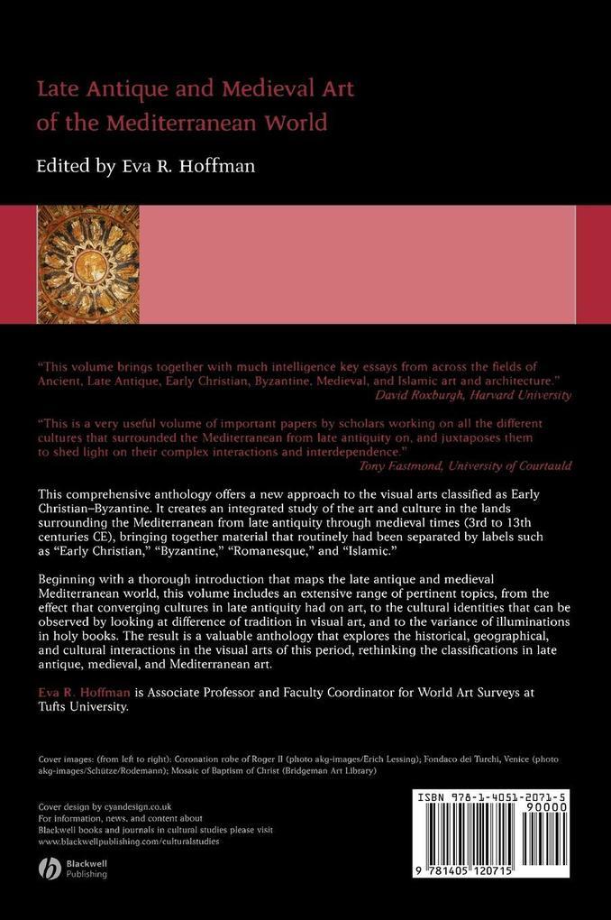 LATE ANTIQUE ART als Buch von Hoffman