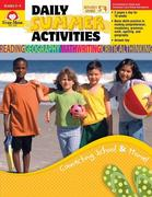 Daily Summer Activities Grades 3rd to 4th