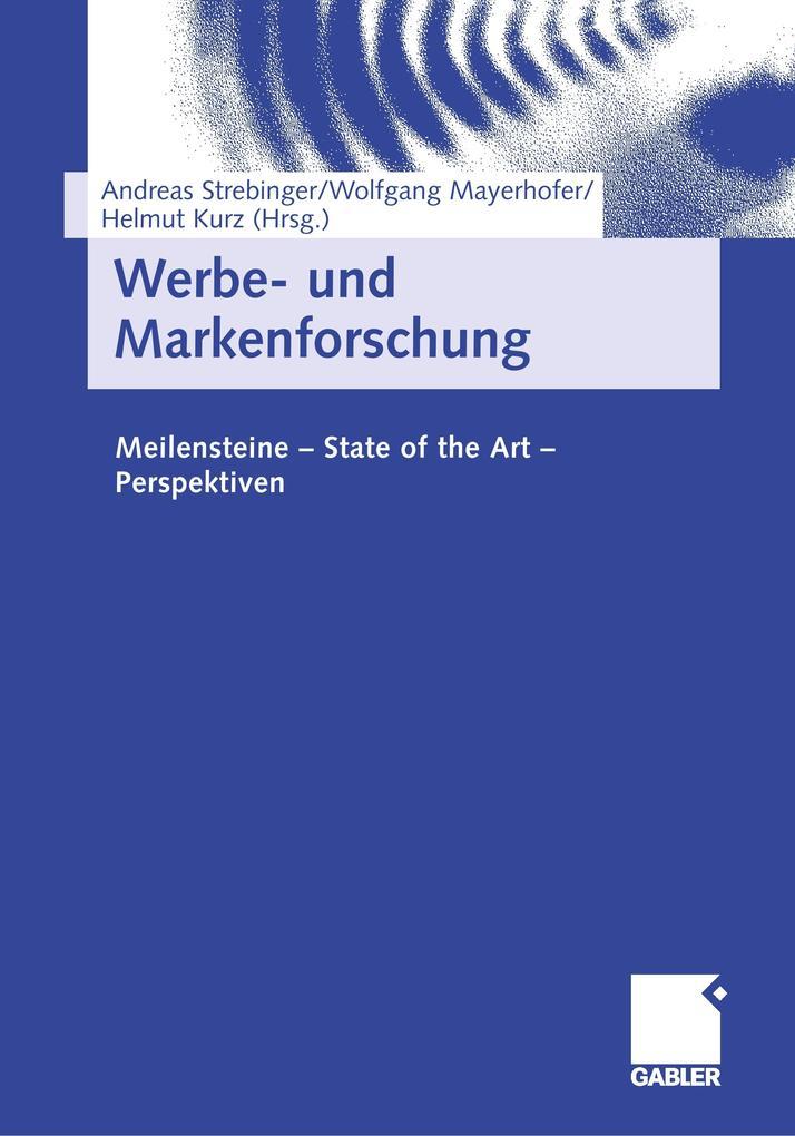 Werbe- und Markenforschung als Buch von