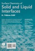 Surface Chemistry of Solid and Liquid Interfaces