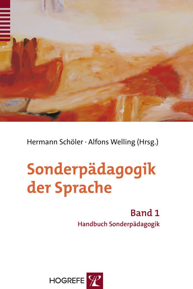 Sonderpädagogik der Sprache als Buch von