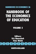Handbook of the Economics of Education, Volume 2