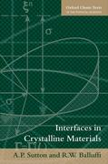 Interfaces in Crystalline Materials