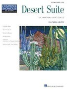 Desert Suite: Six Original Piano Solos: Intermediate Level