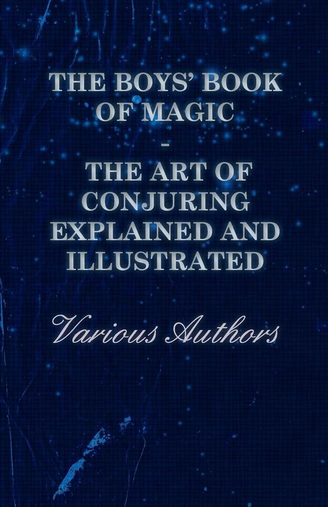 The Boys´ Book of Magic als Taschenbuch von Var...