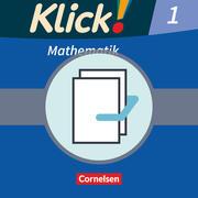 Klick! Mathematik. Bd. 1 Arbeitsbücher Teil 1 und 2. Westliche Bundesländer