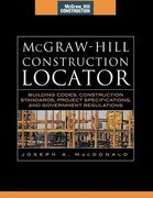 McGraw-Hill Construction Locator (McGraw-Hill Construction Series): Building Codes, Construction Standards, Project Specifications, and Government Reg