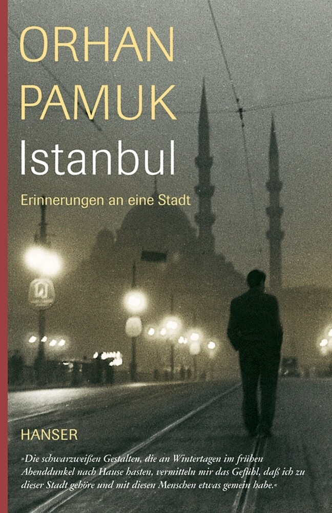 Istanbul als Buch
