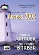 Exploring Microsoft Office Access 2003