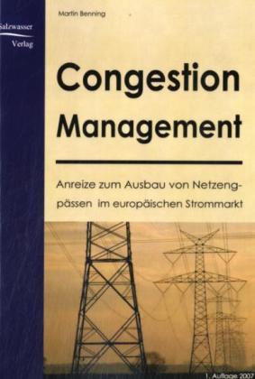 Congestion Management als Buch von Martin Benning