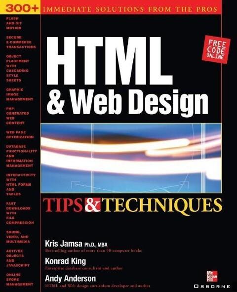 HTML & Web Design Tips & Techniques als Buch vo...