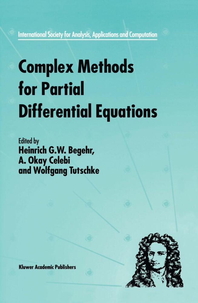 Complex Methods for Partial Differential Equations als Buch (gebunden)