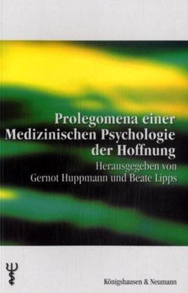 Prolegomena einer Medizinischen Psychologie der...